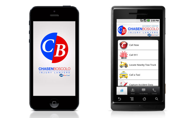 chasenBoscolo accident aid app - chasenboscolo injury lawyers - Maryland, Virginia, & Washington, D.C.